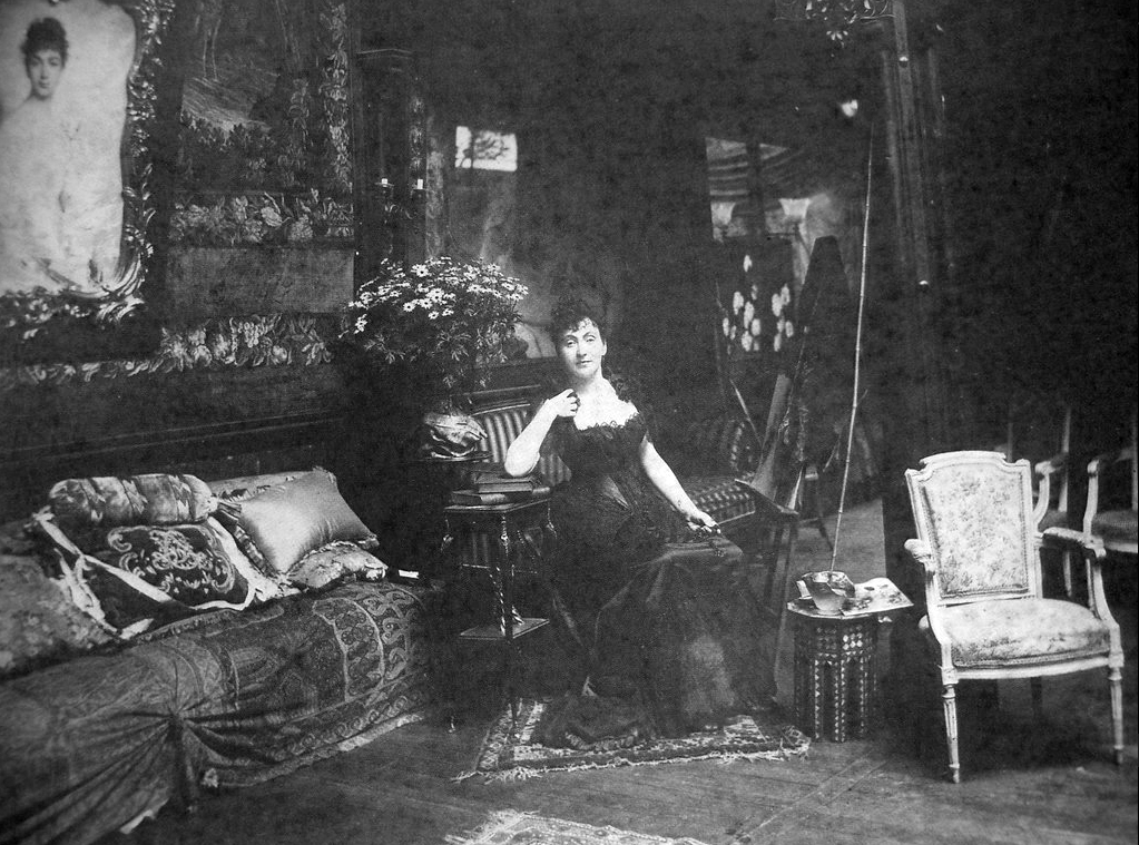 Madeleine Lemaire dans son salon (1845-1928)
