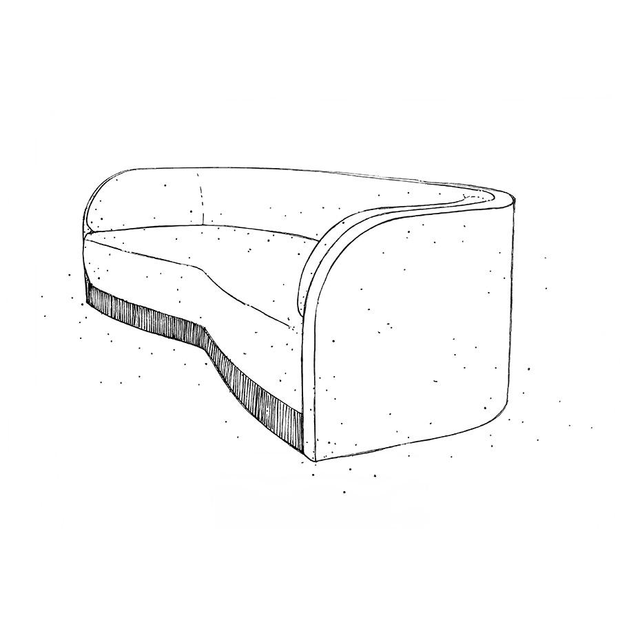 DUNE – sofa – Philippe Hurel